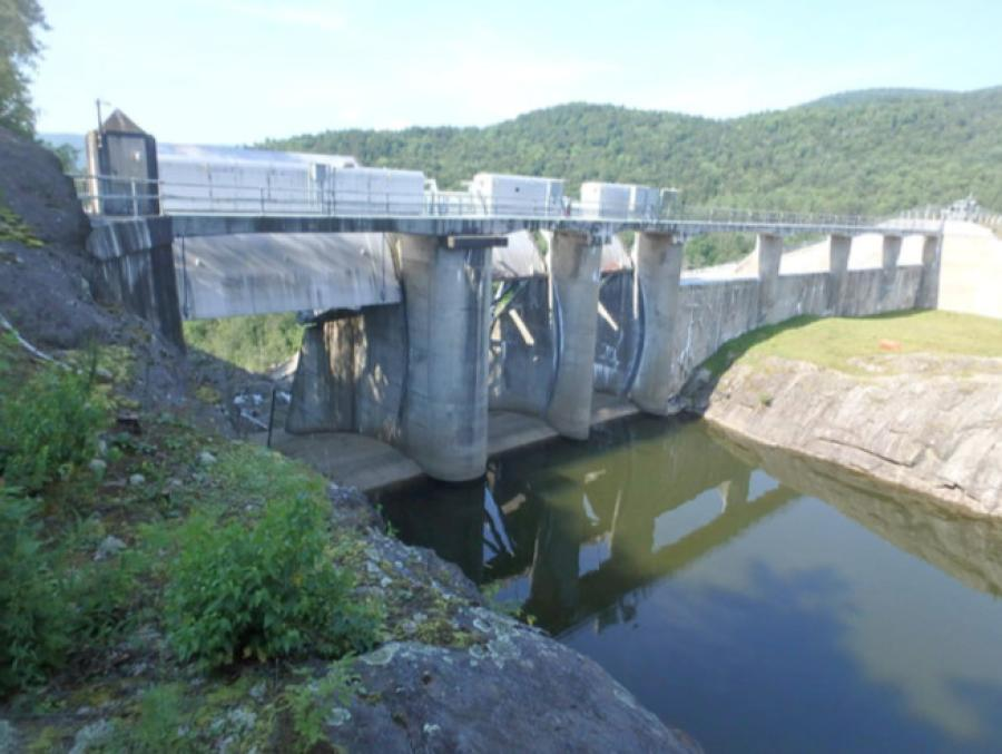 Waterbury Dam