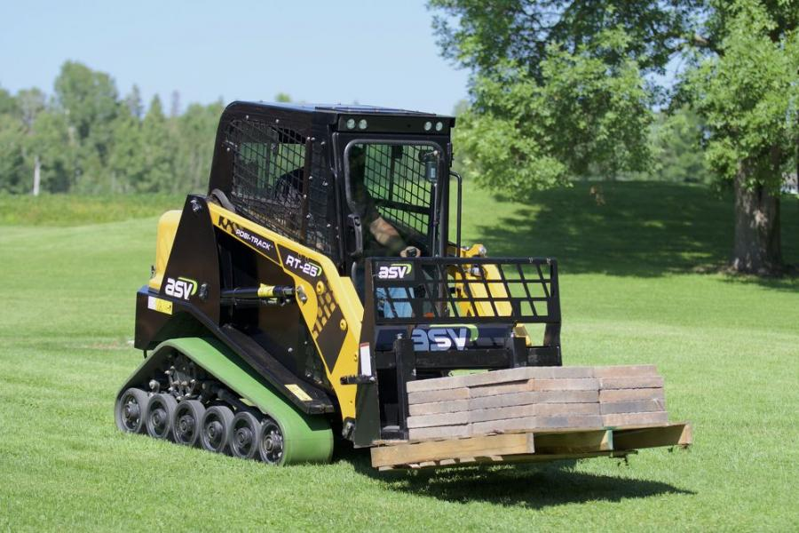 ASV Holdings Inc. has introduced the RT-25 Posi-Track compact track loader. (ASV photo)