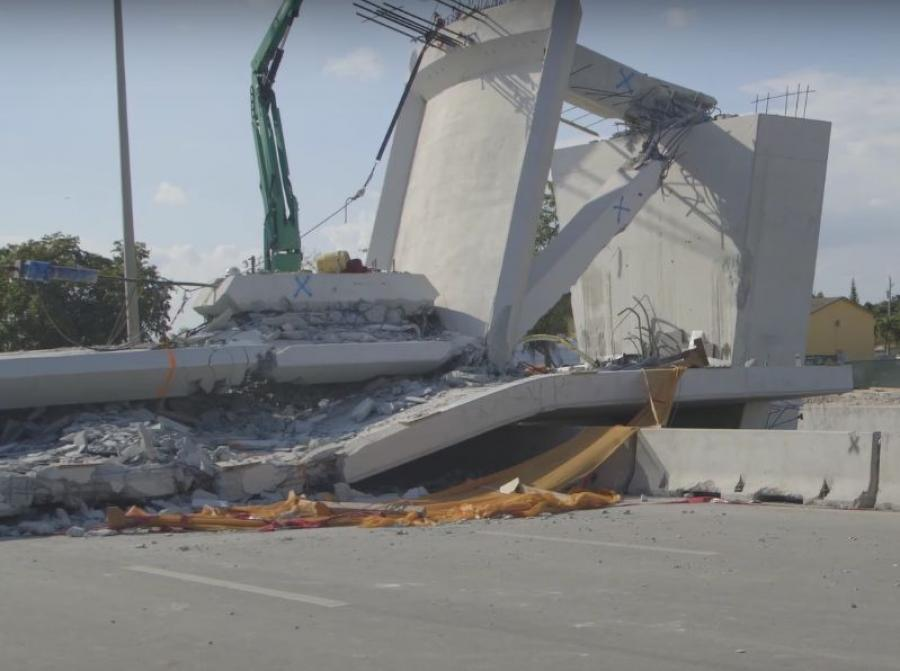That bridge collapse resulted in six fatalities and eight injuries.
