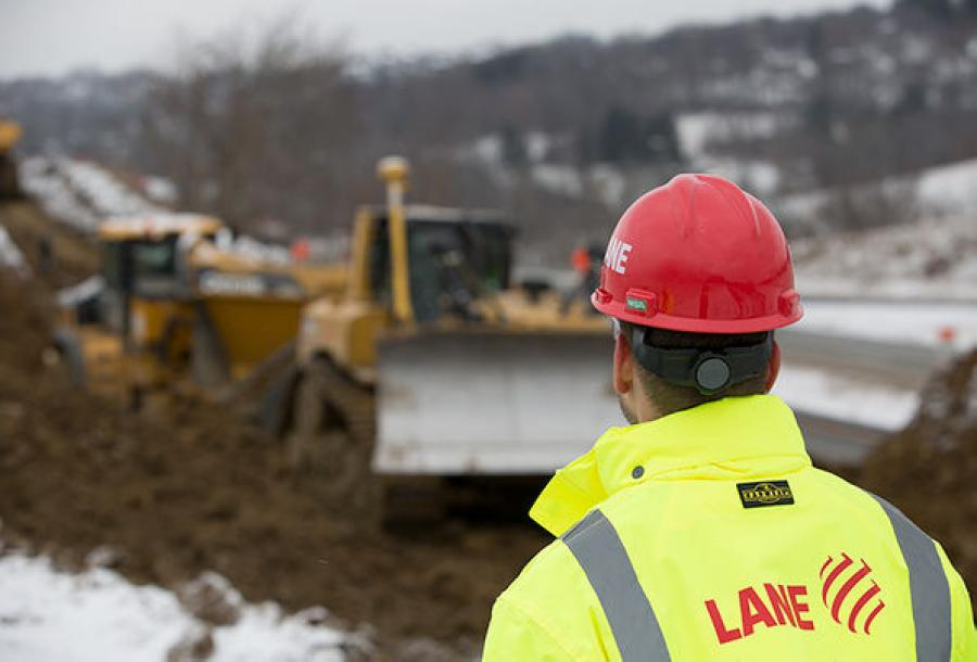 Lane Construction Corporation has won two contracts totaling nearly $400 million.  (Lane Construction photo)