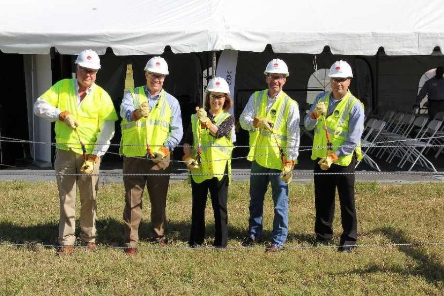 "Entergy officials, business and community leaders gathered at the GT OmniPort Industrial Park to ""cut the wire"" on the Port Arthur Reliability Transmission Project, an approximately $70 million investment in Southeast Texas."