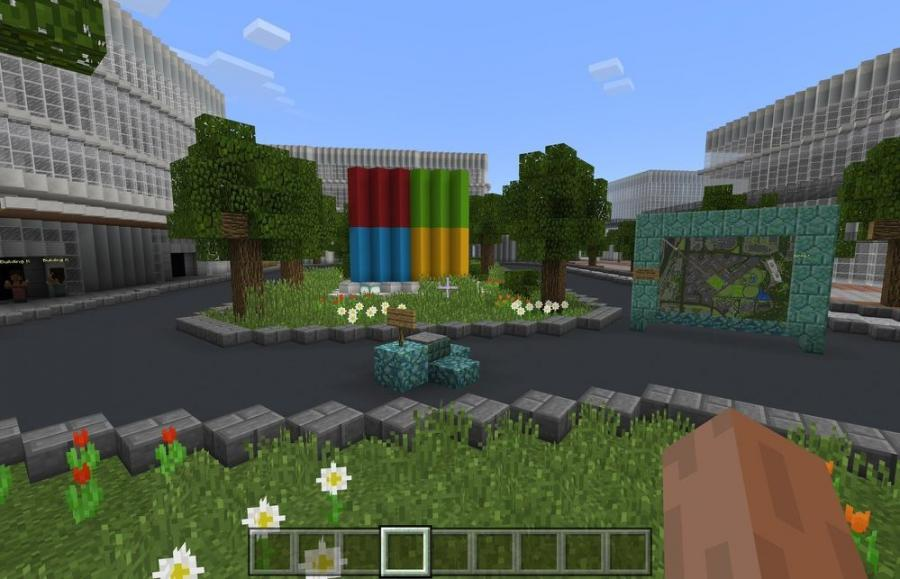 To keep its employees in the loop, Microsoft commissioned Blockworks, a company that builds Minecraft versions of actual projects, to make a virtual version of the campus, which will be updated as needed.