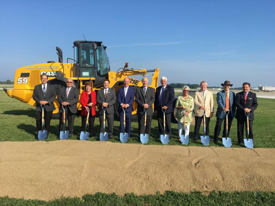 On Aug. 28, the Akron-Canton Airport (CAK) broke ground on a $34 million gate modernization project.
