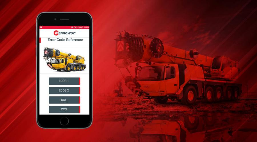"The latest version of the smartphone app is available now for free in both the App Store (Apple) and Google Play (Android) by searching for ""Manitowoc Diagnostic Code App."""