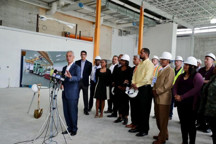 """We are thrilled that the state sees what we have known for years; that the TDL Center will provide a great boost for Chicago students, and for the city's south side,"" said Mayor Rahm Emanuel."