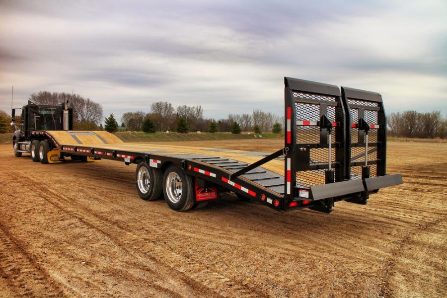 Trailers For Less >> Heavy Haul Trailers Rely Less On Tech More On Strength