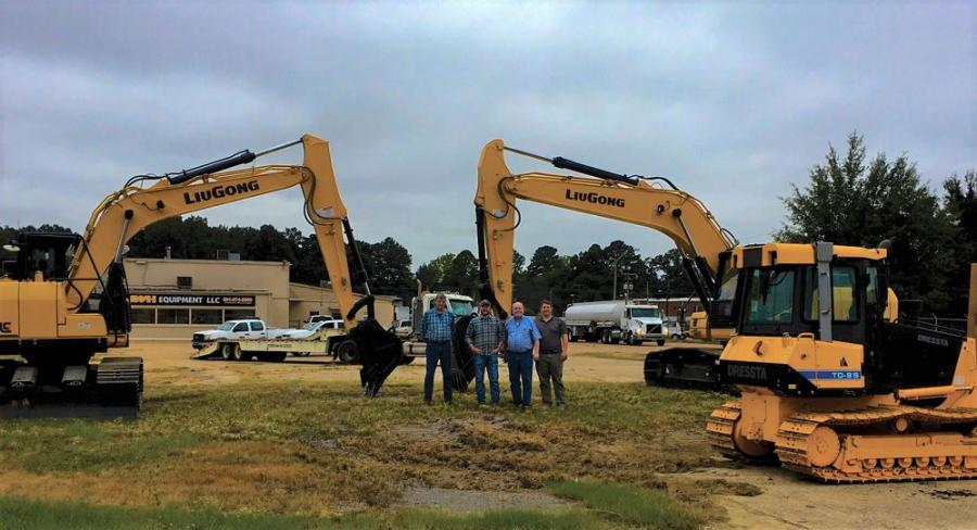 JWH Equipment of Jackson, Miss., now offers a full line of LiuGong wheel loaders and excavators and Dressta dozers for rental.