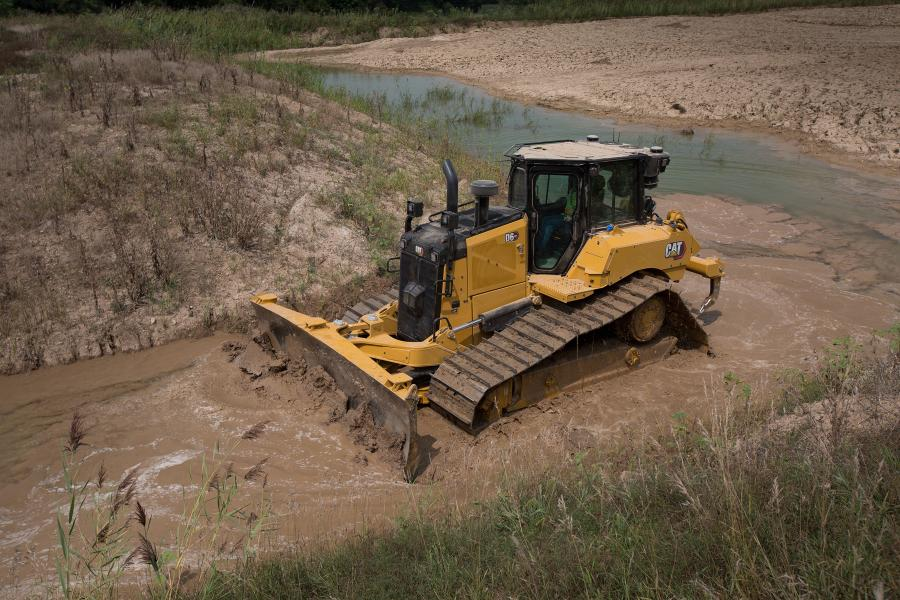 New Cat D6 Debuts World's First High Drive Electric Drive Dozer