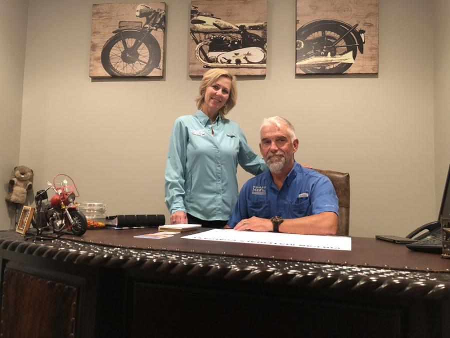 Rick Alexander and his wife, Kim, own and operate Ready Mix of the Carolinas Inc. in Charlotte, N.C.