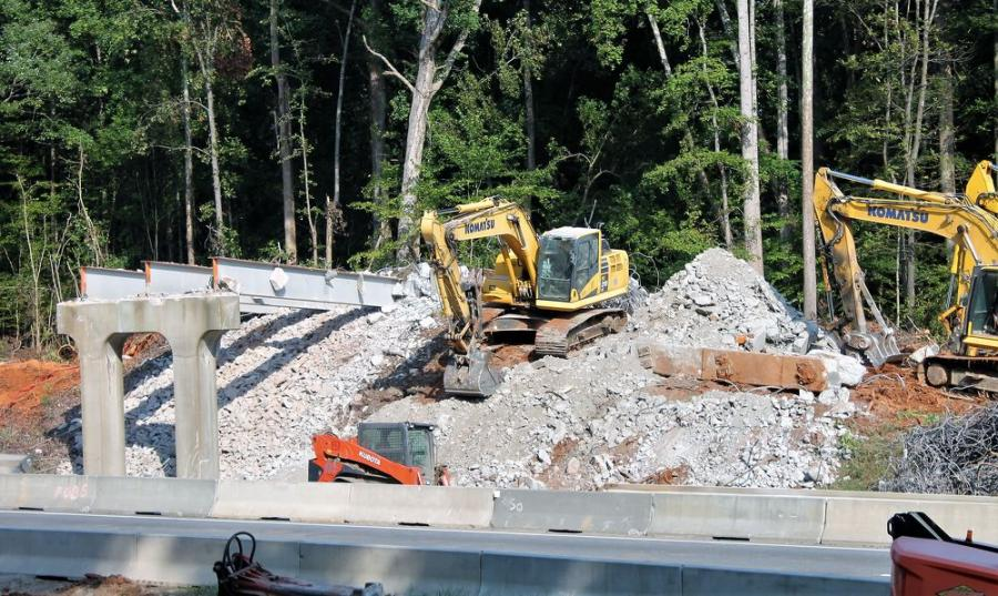 NCDOT Replaces Yadkin River Bridge on I-40 | Construction Equipment