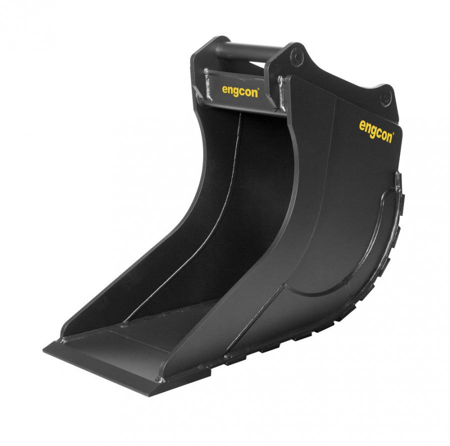 Engcon's CB29 cable bucket is designed for excavators in the 29.7 to 34 ton (27 to 31 t) range.
