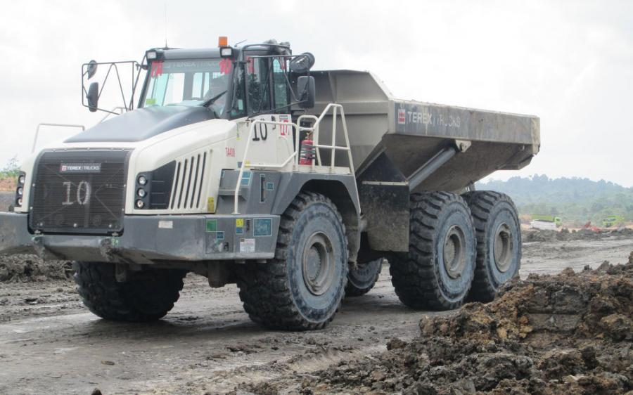 The TA400 is powered by a six-cylinder Scania DC13 engine that is fuel efficient and delivers low cost of operation.