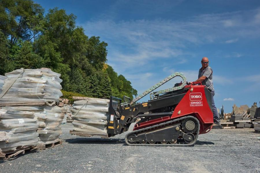 In addition to featuring innovative telescoping loader arms, the TXL 2000 is the most powerful compact utility loader on the market today with a rated operating capacity of up to 2,000 lbs., rivaling the strength of many skid steer loaders and compact track loaders.