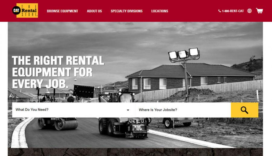 The new Catrentalstore.com web and mobile experience, to be launched March 2019 in the United States first, is a continuation of the Caterpillar focus on digital innovation designed to enhance the rental experience.