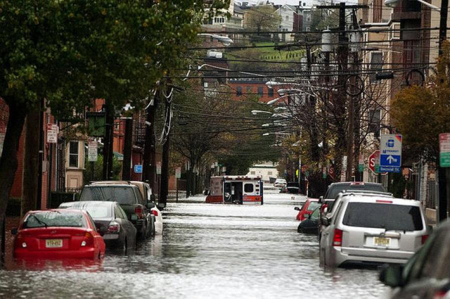 A plan to protect Hoboken, Jersey City and Weehawken from the type of major flooding caused by Superstorm Sandy is moving forward.