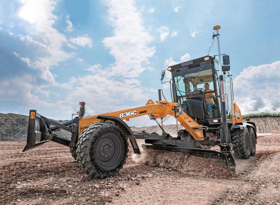 Available in both standard and all wheel drive (AWD) configurations, the 836C and achieves Tier IV Final compliance with selective catalytic reduction (SCR) engine technology that increases fuel efficiency, keeps exhaust temperatures down and eliminates the need for regeneration.