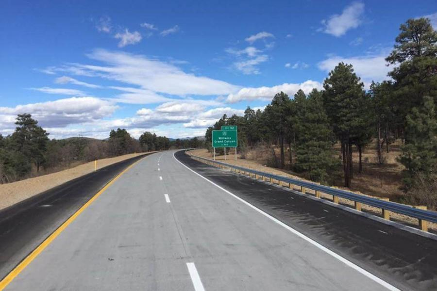 """""""These much-needed projects keep the key northern Arizona corridors of I-40 and I-17 in top shape for commercial traffic and passenger vehicles,"""" said Audra Merrick, district engineer for ADOT's North Central District. (ADOT photo)"""