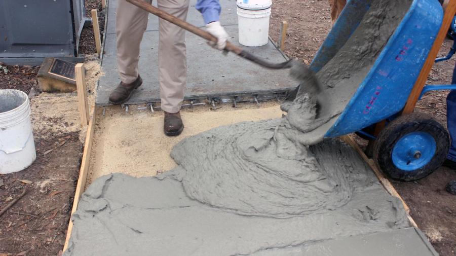 """We were able to tailor the cementitious mix and the interface between the fibers and the cementitious matrix in such a way that allowed for a ductile behavior of the concrete,"" Arce said. ""In more simple terms, the formula utilizes the right materials in the right proportions."""