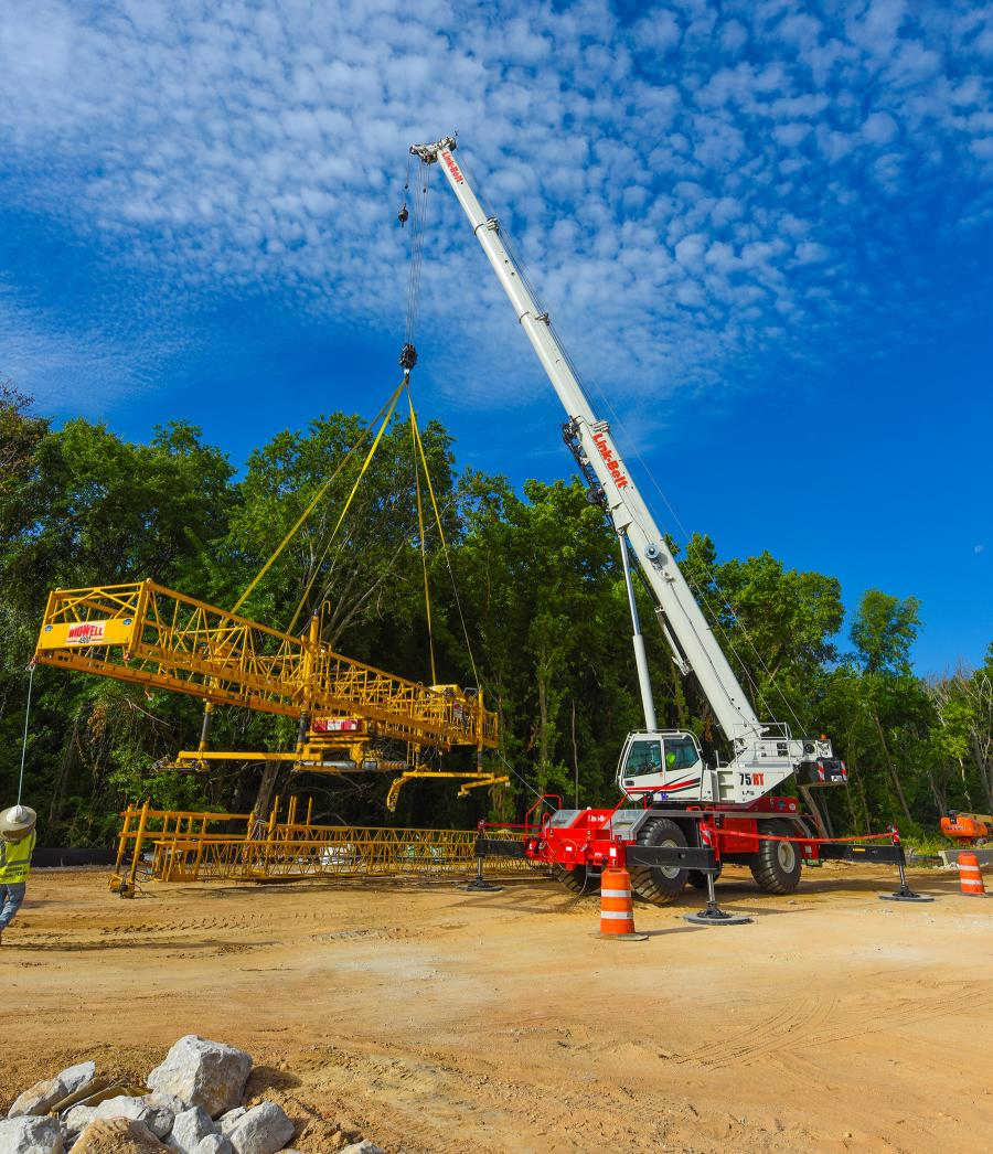 """Our equipment doesn't get hauled to a job and stay there for the duration of the job. They get hauled to a job with our own heavy haul trucks, complete the assigned task and leave for the next project,"" said Terry Killingsworth, structures manager at Ed Bell Construction."