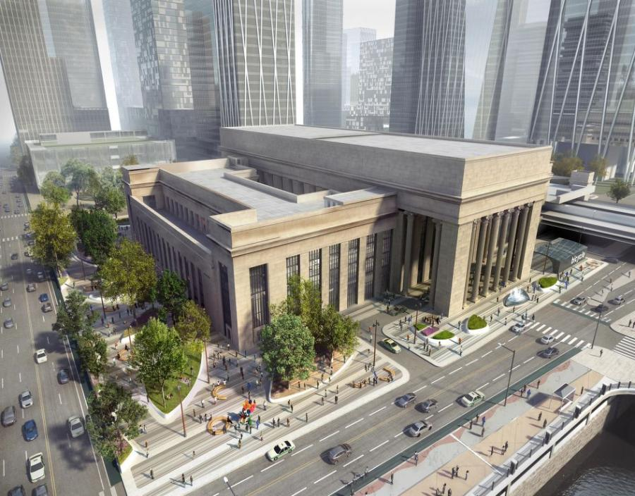 Amtrak narrowed the Master Developer list to four teams to update the William H. Gray III 30th Street Station.