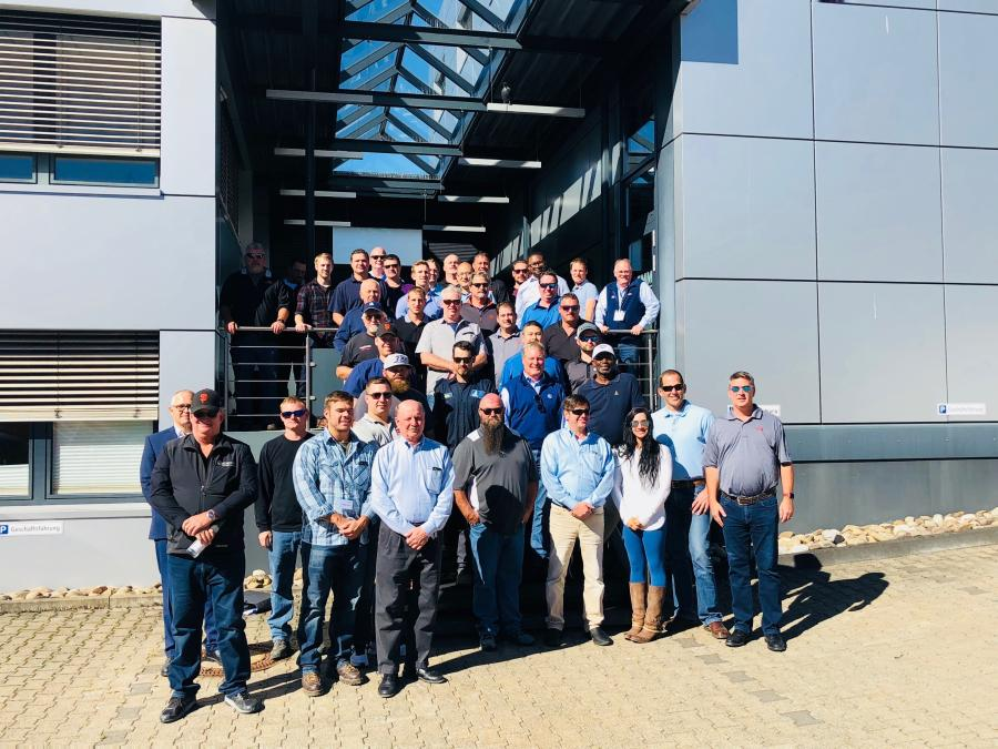 ECA and Bauer Equipment America hosted 36 distinguished guests at the annual Bauer Oktoberfest Event in Germany from Oct. 17 to 21.