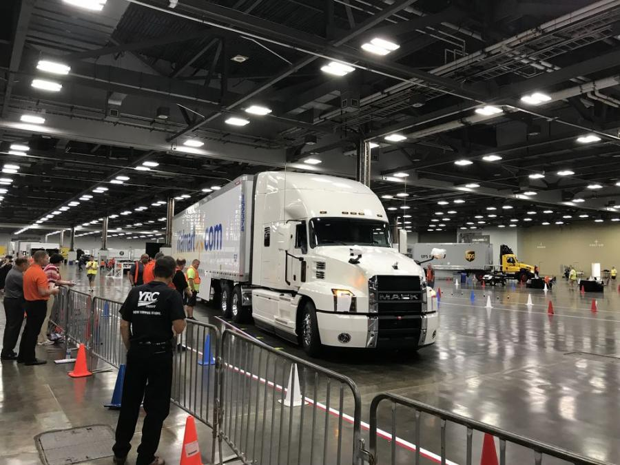 Mack Trucks salutes the dozens of drivers who participated in the 2018 National Truck Driving Championships as well as the hard work and dedication of the 3.5 million professional truck drivers across the industry for National Truck Driver Appreciation Week, which ran from Sept. 9 to 15.