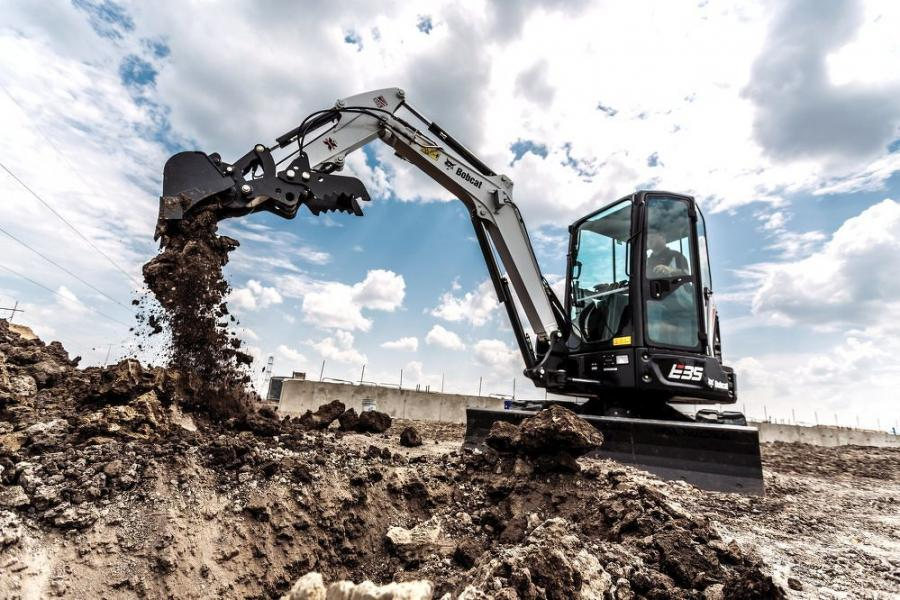 Compact and mini-excavators give operators surprising power and effortless hydraulics for their size.