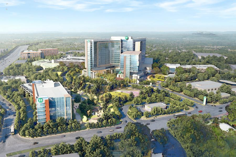 Construction of Children's Healthcare of Atlanta's $1.58 billion North Druid Hills Campus is expected to begin in 2020.