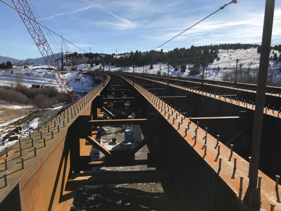 Engineers knew it was possible that at least a portion of the mine shaft was close to the surface. So, they designed the new bridges around the old mine to minimize the risk.
