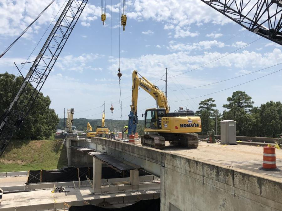 The Hughes Street bridge will be lengthened from 172 linear feet to 183 linear feet.