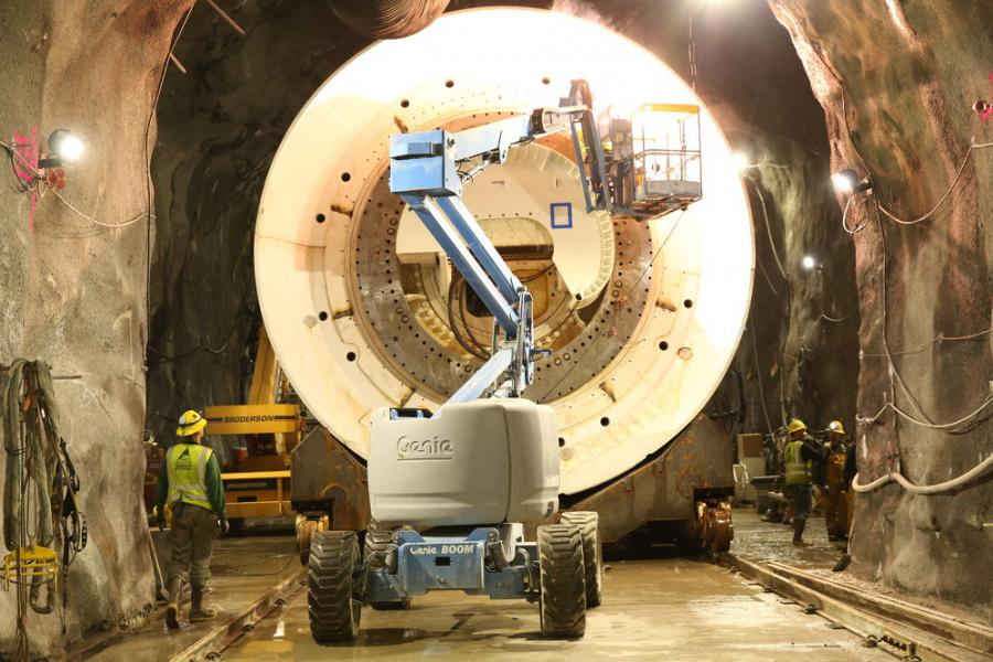 Repairing the Longest Tunnel in the World | Construction Equipment Guide