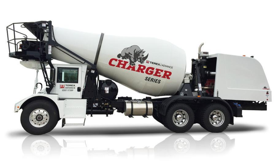 Terex Advance Charger's front discharge mixer truck has a newly designed cab to be fitted on all models in 2019.