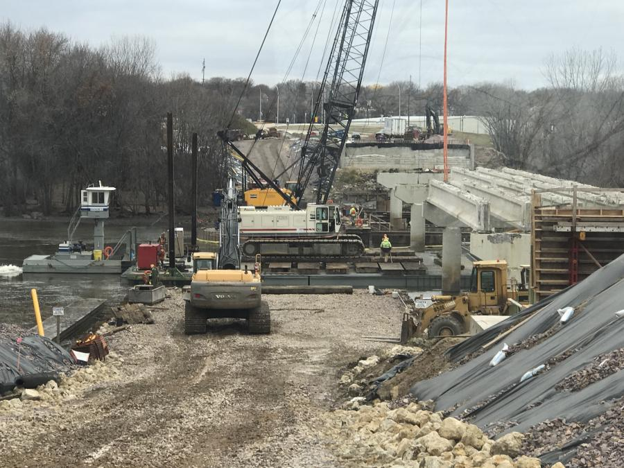 The Minnesota Department of Transportation's New Ulm Gateway Project is replacing two bridges and constructing a new one at an interchange being built at Highways 14 and 15 and Nicollet County Road 21.