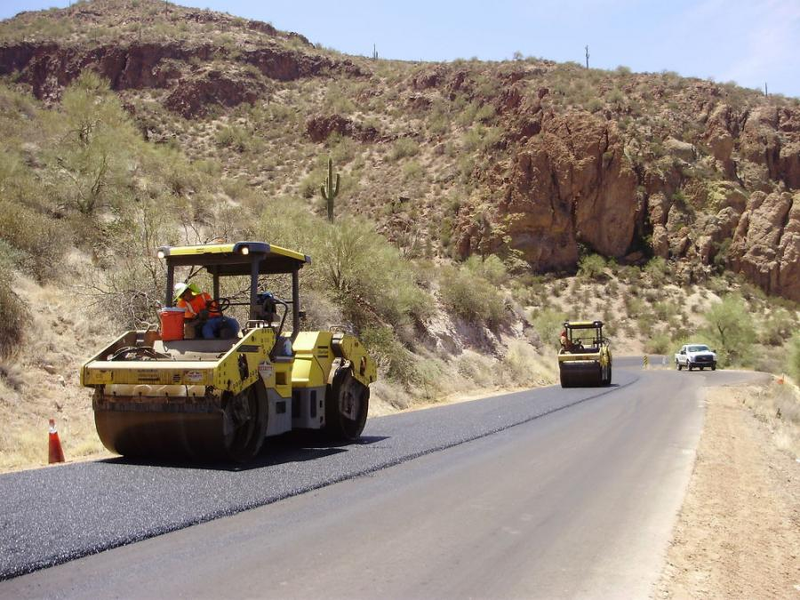 The Arizona Department of Transportation has finished $6.5 million worth of improvements that include paved vehicle pullouts, adjustments to several curves and replacement of some existing sections of old guardrail. (Arizona Department of Transportation photo)