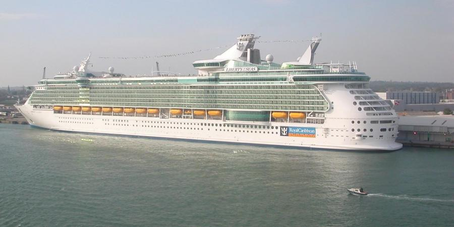 Royal Caribbean currently has two ships that sail out of Galveston, Liberty of the Seas (pictured), the largest cruise ship to sail from the State of Texas and Vision of the Seas. The Port expects the new cruise terminal to generate an additional 1.0 million passengers halfway through the term of the contract.