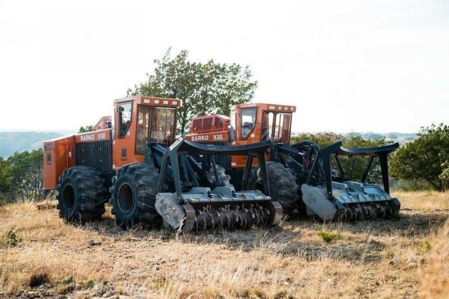 The rocky hills and canyons of Texas pose many challenges to land clearing equipment.