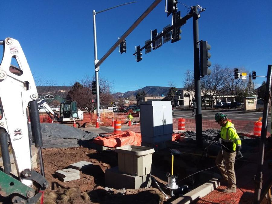 The project will improve safety and mobility at three key intersections on North Main Avenue (U.S. Highway 550) in Durango.