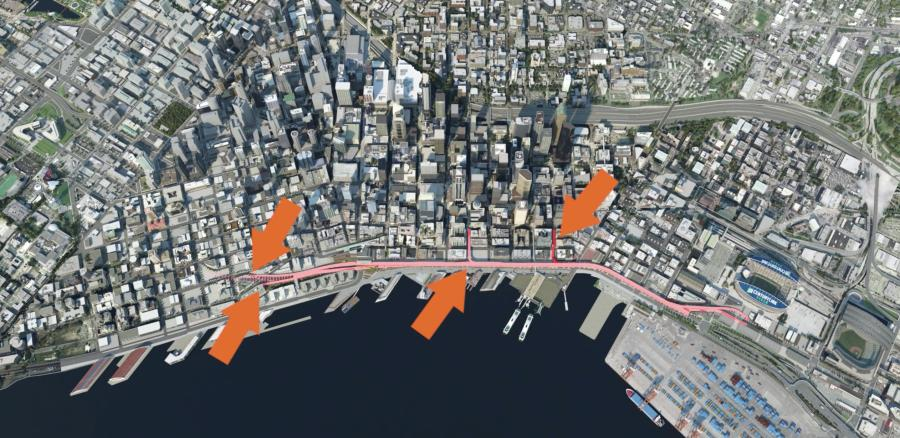 After the tunnel opens, it could take weeks or months for traffic patterns to settle down as drivers try different routes to and from their destinations.