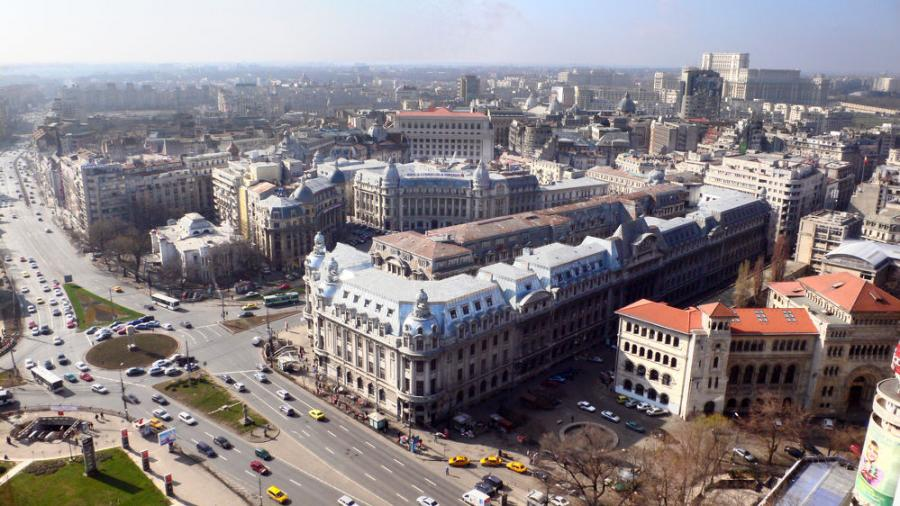 """Dubbed """"the guardian angel"""" of churches, Iordachescu devised a radical system that placed whole buildings in Bucharest — including churches, monasteries, banks and apartment buildings — on the equivalent of railway tracks and rolled them hundreds of yards away to save them from destruction."""