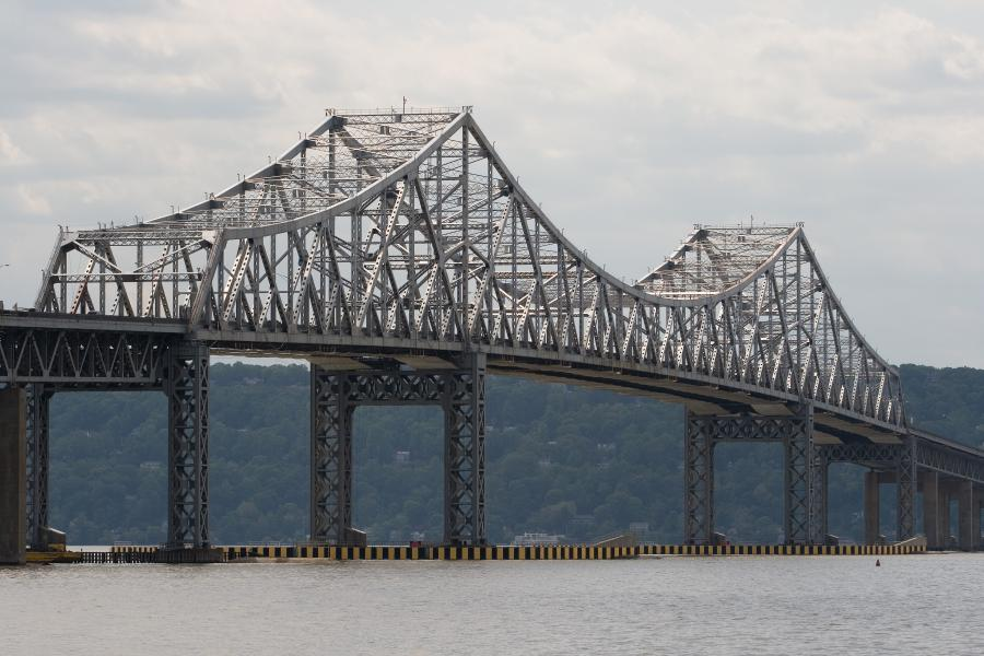 Plans were to remove the Tappan Zee piece by piece and avoid the use of explosives that could have an impact on Hudson River fish habitats. But experts determined the old bridge was structurally unsound, preventing workers from continuing the piecemeal takedown.