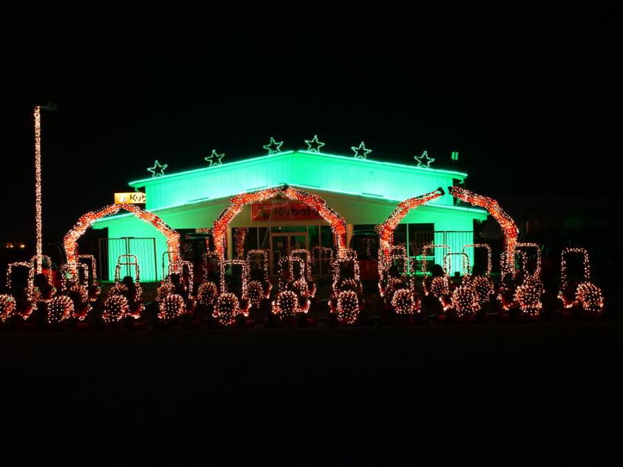 Messick's Christmas Light Show display brought in 5,420 cars and raised a total of $45,368 in donations.