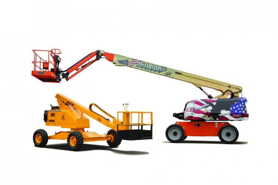Since its introduction of the first commercially produced aerial work platform, JLG has claimed many access industry firsts.