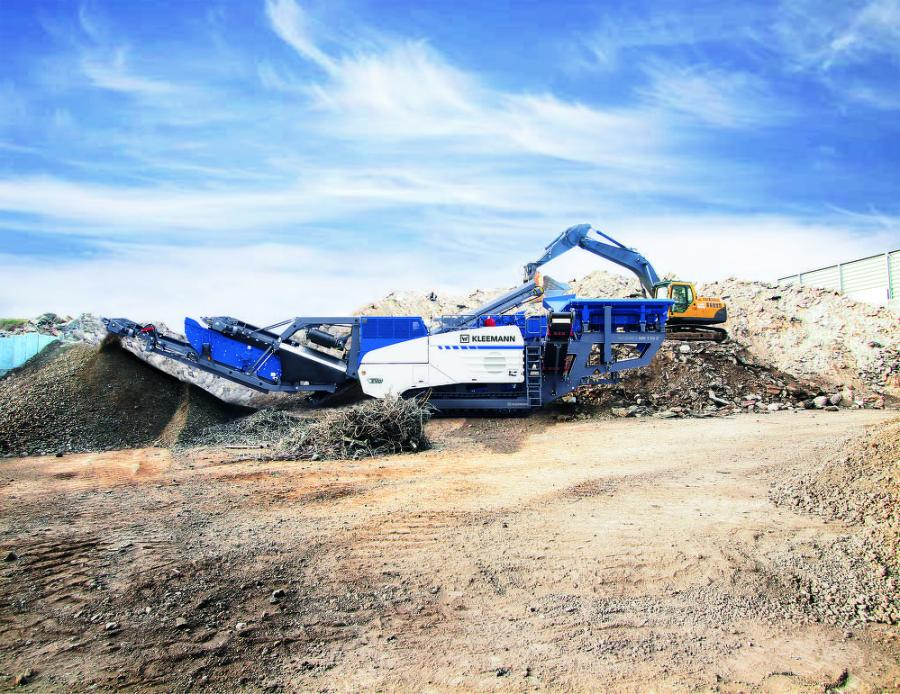 The Tier IV final-compliant Mobirex MR 130 Zi EVO2 impact crusher from Kleemann is boosting productivity and product quality for operators.