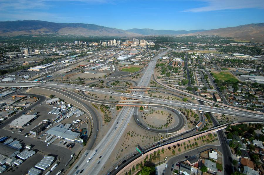 Nevada Department of Transportation hosted a public hearing to gather feedback on the proposed improvements to the Reno-Sparks Spaghetti Bowl and metro interstates.
