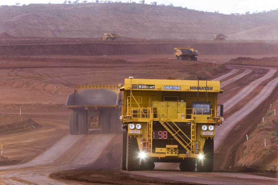 Komatsu's FrontRunner AHS allows unmanned operation of ultra-class mining trucks and is critical to the mining industry.