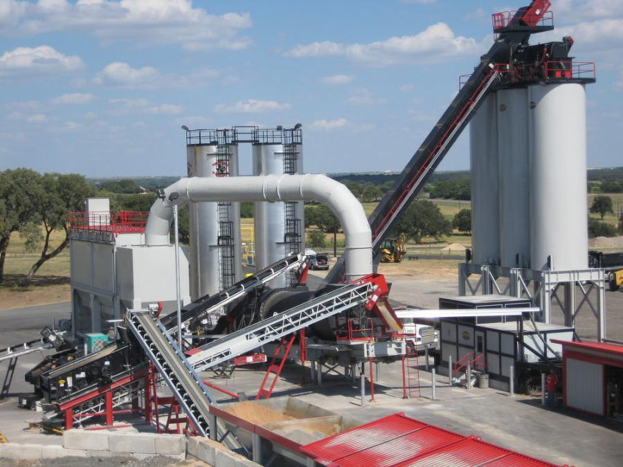 Asphalt Drum Mixers Inc. offers asphalt plant add-ons for greater customizability, uptime and efficiency. The components help with ease of operation and can alert operators to small problems before they grow and become more costly. (Asphalt Drum Mixers photo)