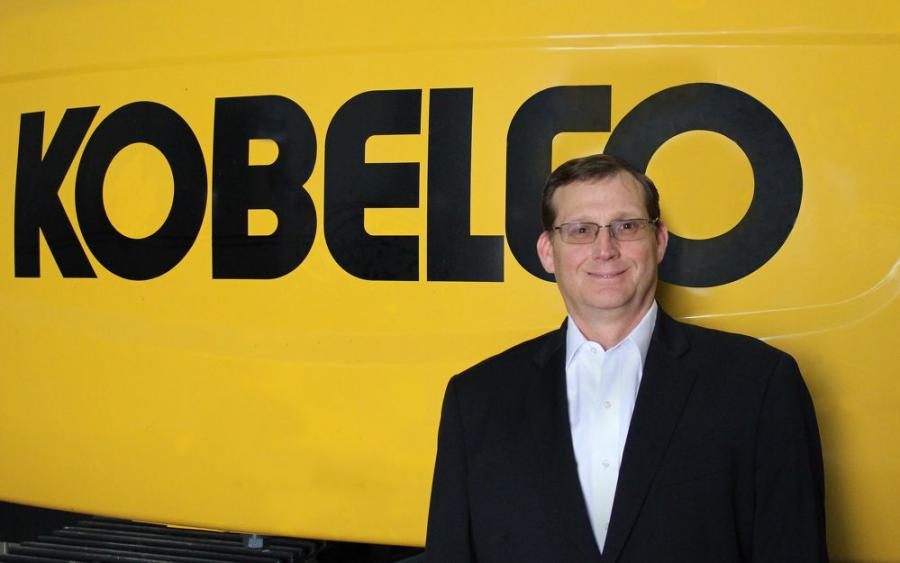 Jack Fendrick,  COO/vice president — excavator and crane divisions, KOBELCO USA.