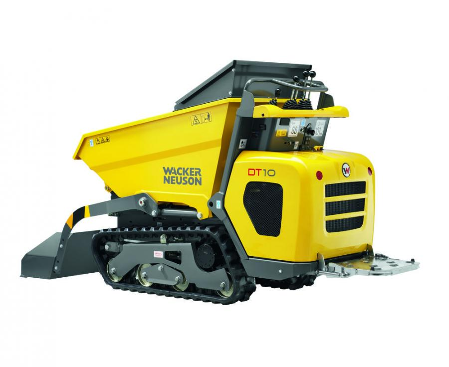 The DT series (Dumper Track) will be available in three models with various skip options making them ideal material handling solutions for smaller jobs that need the advantages of a tracked machine.