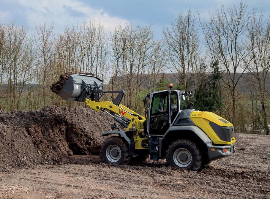 The WL95 is built for performance and operator comfort. The variable hydrostatic transmission provides excellent traction and high travel speeds (12.4 mph).