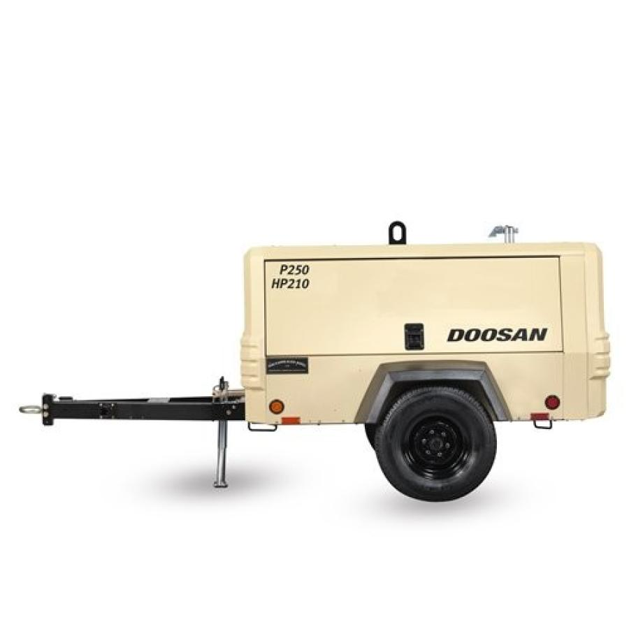 Doosan Portable Power Introduces P250/HP210 Air Compressor | CEG